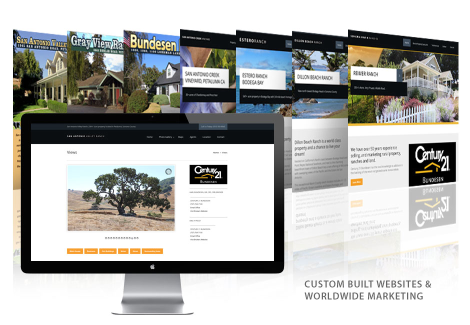 Custom websites Century 21 Bundesen